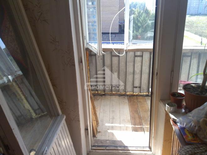 Фотографии этапов работ по отделке балкона - баромстрой.
